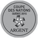 Coupe des nations 2015 Argent