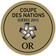 Coupe des nations 2015 Or