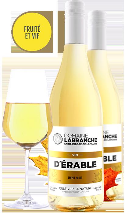 Présentation Vin d'érable Domaine Labranche