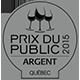 Prix du Public 2014 Argent