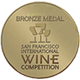 San Francisco International Wine Competition 2015 Bronze