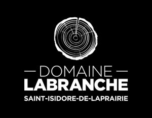 Logo Labranche vertical fond noir