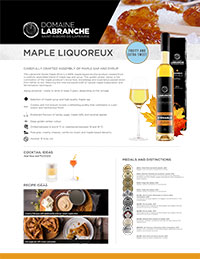 Maple liquoreux sheet