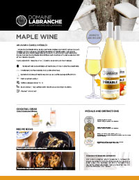 Maple wine sheet