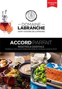 Couverture du livret de recettes et cocktails