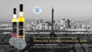 medailles vinalies 2016 - Domaine Labranche