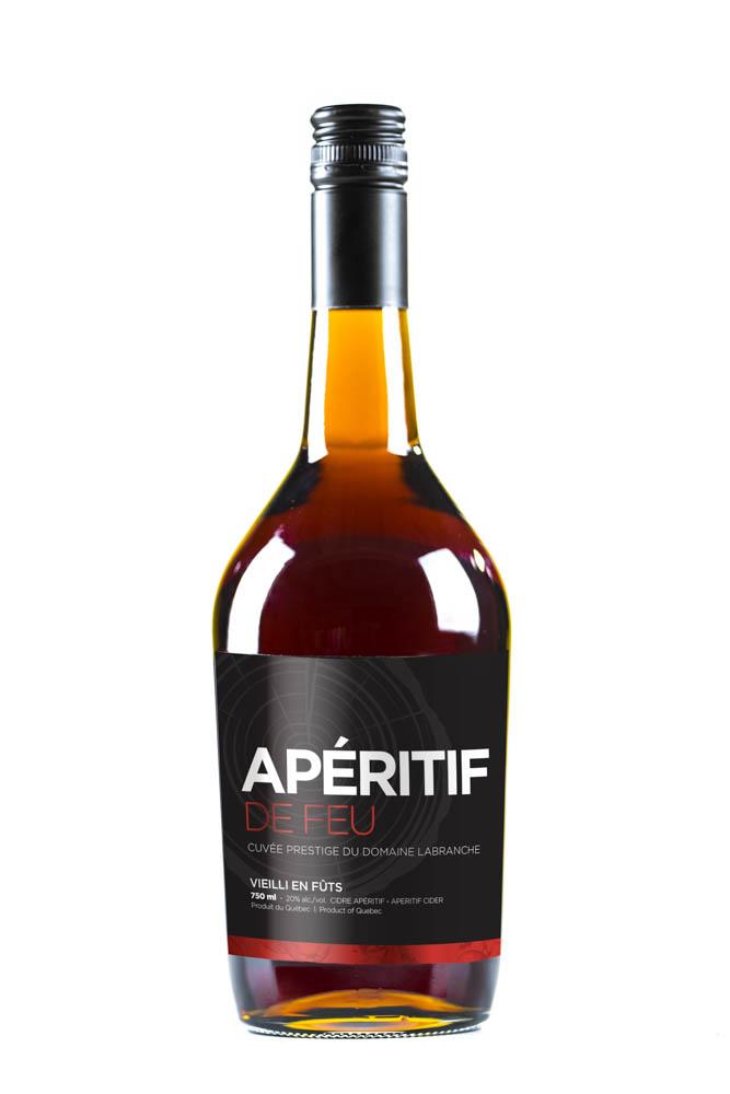 Bottle of Domaine Labranche's Apéritif de feu