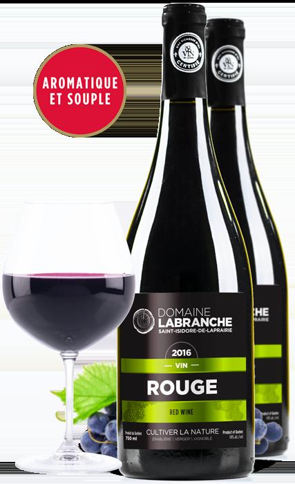 Bouteilles de vin rouge Domaine Labranche