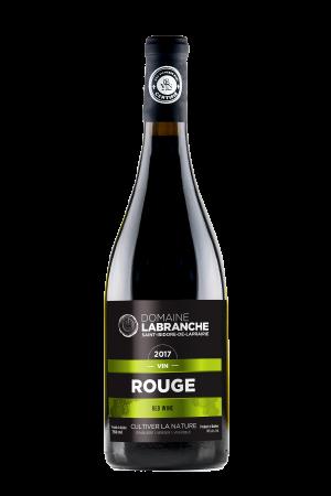 Bouteille de vin rouge Domaine Labranche