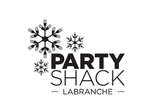 Party shack logo (dark)