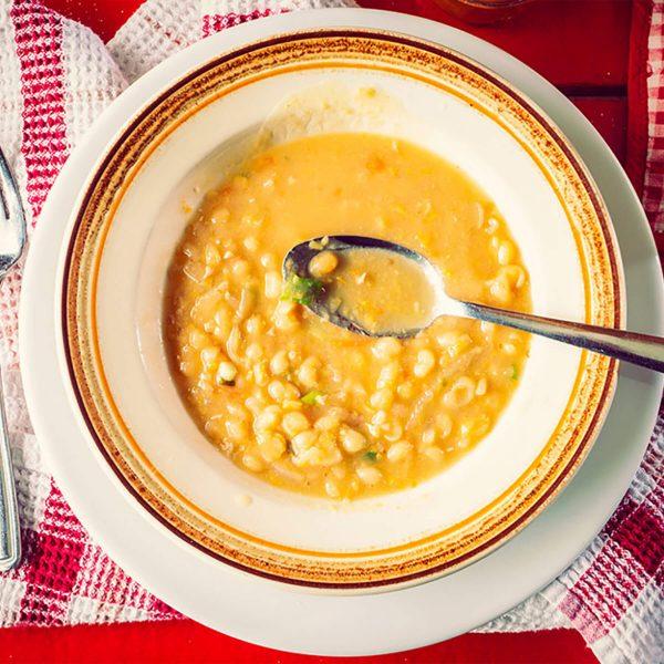 soupe pois - Domaine Labranche